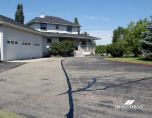 Asphalt repairs in Calgary