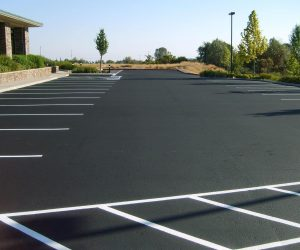 Commercial asphalt paving in Calgary